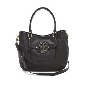 Tory Burch Amanda classic leather hobo bag